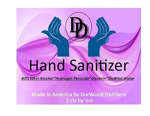 Hand Sanitizer - 1 - 8 oz bottle
